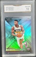 2019 Chronicles Zion Williamson Panini XR #271 Rookie RC GMA 10 GEM MINT NOT PSA