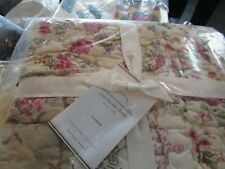 Pottery Barn Madelyn reversible patchwork standard  sham quilted  New