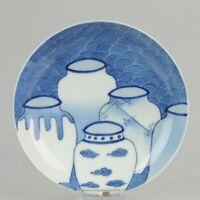 Antique Meiji Lovely Japanese Porcelain footed Dish Nabeshima Porcelain[...