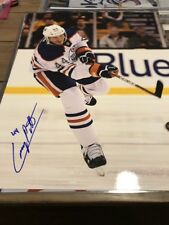 Edmonton Oilers Corey Potter AUTOGRAPHED 11x14 PHOTO NHL
