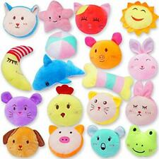 New listing 18 Pack Puppy Plush Squeaky Toys Small Dog Chew Toys for Boredom