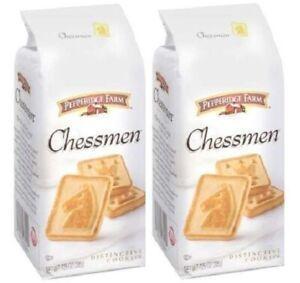 Pepperidge Farm Chessmen Sweet & Simple Cookies 2 Bag Pack