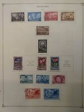 Hungary Stamps 1950- 1955 Regular & Air Post