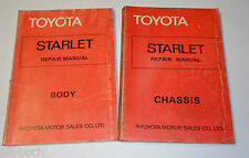 Workshop Manual Workshop Manual Toyota Starlet Chassis + Body, 03/1978