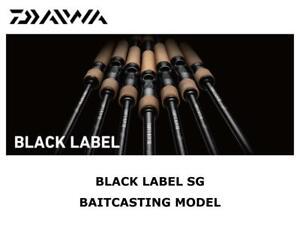Daiwa Black Label SG Baitcasting Model 661MXB-ST casting rod ship from Japan