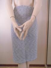 SPORTSGIRL Grey Polyester Knit Pencil Skirt Sz M