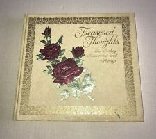 Treasured thoughts for today, tomorrow, and always (Hallmark editions) 1974