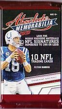 2010 PANINI ABSOLUTE NFL JERSEY / PATCH OR AUTOGRAPH HOT PACK