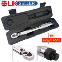 1/4 inch Multi-Use Drive Torque Wrench 5-25Nm Adjustable Hand Spanner Ratch Tool