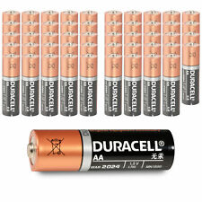 50x Duracell AA Alkaline Mignon Batterie LR6 MN1500 UM3 | 2850mAh 1,5V | 50 Stk