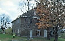 Mount Pleasant Ohio~Friends Yearly Meeting House~Front View 1950s Postcard
