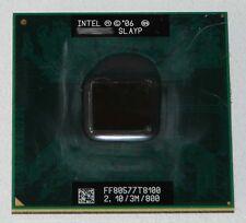 Intel Core 2 Duo mobile t8100 2100mhz (2.1ghz) slayp procesador CPU
