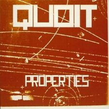 Quoit - Properties - 2001 Quatermass Belgium Import Mick Harris NEW CD