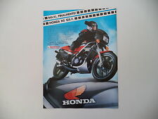 advertising Pubblicità 1985 MOTO HONDA NS 125 F