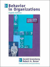 Behavior in Organizations: Understanding and Managing the Human Side of Work (I