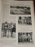 1898 2ND Rifle & Lancs Fusileros Kasr El Cero Cairo Etc