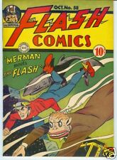 Flash #58 October 1944 High Grade – white pages