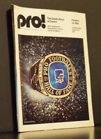 Pro! The Official Magazine Of The National Football League August 9 1975