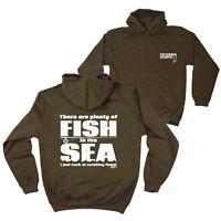 FB Fishing Hoodie Plenty Of Fish Novelty Birthday Christmas Gift Hoody Jumper