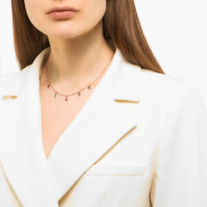 "17.7"" 45 cm russian 14K 585 gold necklace NEW, rhodolite, amethyst, topaz, agate"