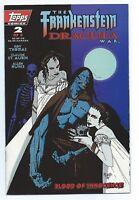 1995 Topps Comics The Frankenstein Dracula War #2 of 3