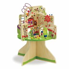 Tree Top Adventure Activity Center Toy Kids Toy Toddler Wooden Learn Nursery New
