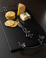 Michael Aram Black Orchid Cheese Board with Knife $200 LARGE