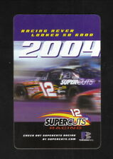 NASCAR Busch Series--2004 Pocket Schedule--Supercuts