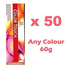 Wella Color Touch Colour Semi-permanent Highlight Hair Dye Pure Red Natural x 50