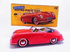 81583 Distler Porsche 356 Cabrio Electromatic 7500 rot Blech restauriert in OVP