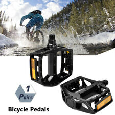 """Bicycle Pedals Metal Alloy  Flat  Platform 14 mm 9/16"""" Inch for Road Bike"""