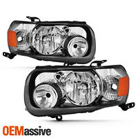 For 2005-07 Ford Escape Halogen Type Headlights Left Driver+Right Passenger Pair