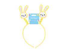 Bunny Head Boppers Easter Bunny Ears Head Boppers For Kids & Adult (27x25x1.5)cm