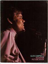 Glen Campbell 1970 Souvenir 36 page Picture Book Tour Program cLEAn