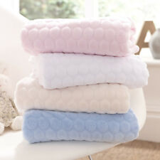 CL5170P Marshmallow Blanket (pink) by Clair De Lune