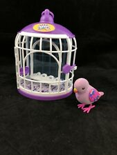 LITTLE LIVE PETS BIRD WITH CAGE BEAUTIFUL BELLA