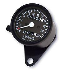 Minitacho schwarz Yamaha XS 400 650 SR 125 250 500 XJR 1200 Tacho Tachometer