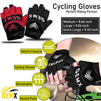 New Half Finger Cycle Gloves Fingerless Driving Wheel Chair Short Cycling Gloves