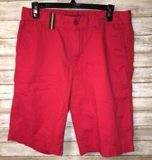 Brax Feel Good- Red Modern Fit Mens Shorts- Size 32