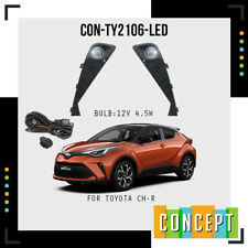 For Toyota CHR CH-R 2020 2021 Front Driving Fog Light Lamp Set