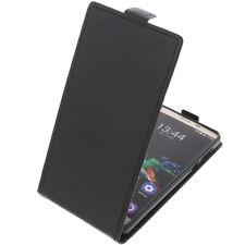 Custodia per Oukitel K6000 Pro modello Flip Astuccio protettivo cellulare nera