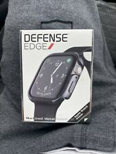 X-doria Defense Edge Apple Watch 44mm Bumper Case Protection Black