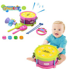 5Pcs Baby Boy Girl Drum Set Musical Instruments Kids Band Kit Children Toy Gift