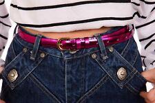 Metallic hotpink belt 80s 90s style belt size S