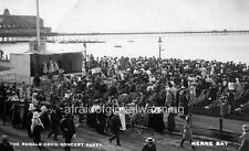 """Photo ca 1911 Herne Bay UK """"Ronald Cecil Concert Party"""""""