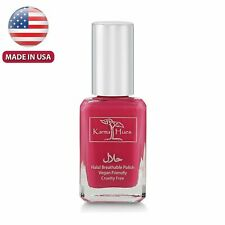Karma Halal Women Certified Nail Polish- Truly Breathable Cruelty Free and Vegan
