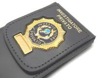 Portafoglio Portadocumenti con Placc Investigatore Privato Vega Holster 1WD76