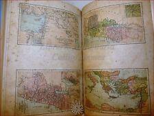 BIBBIA - SCHAFF, F.: Dizionario Biblico 1891 Claudiana, Incisioni Carte Geogr.