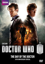 Doctor Who 50th Anniversary Special: The Day of the Doctor (DVD,2013)