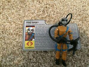 G.I. Joe Figures Frag Viper REALLY NICE